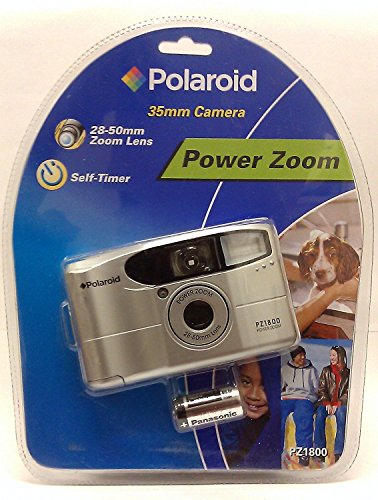 Polaroid Self Timer Power Zoom Motorized 35mm Camera by Polaroid