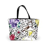 Disney Beauty and the Beast Dreaming of the Ball Tote Handbag