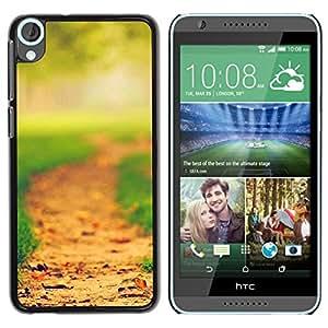 "For HTC Desire 820 , S-type Forest Park"" - Arte & diseño plástico duro Fundas Cover Cubre Hard Case Cover"
