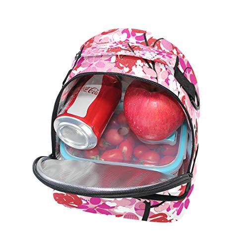 escuela para FOLPPLY para para de ajustable el térmica la correa el Bolsa almuerzo hombro con pincnic RBRfSFn
