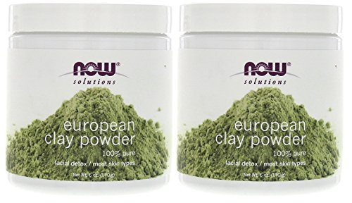 - Solutions European Clay Powder Now Foods 6 oz Powder (Pack of 2)