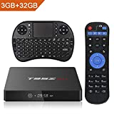 2018 Android 7.1 TV Box,Haswe T95Z MAX 3GB Ram 32GB ROM 4K Ultra HD Player with Bluetooth 2.4G/5G Dual-Band WiFi,Amlogic S912 Octa Core 64 Bits with Remote Keyboard