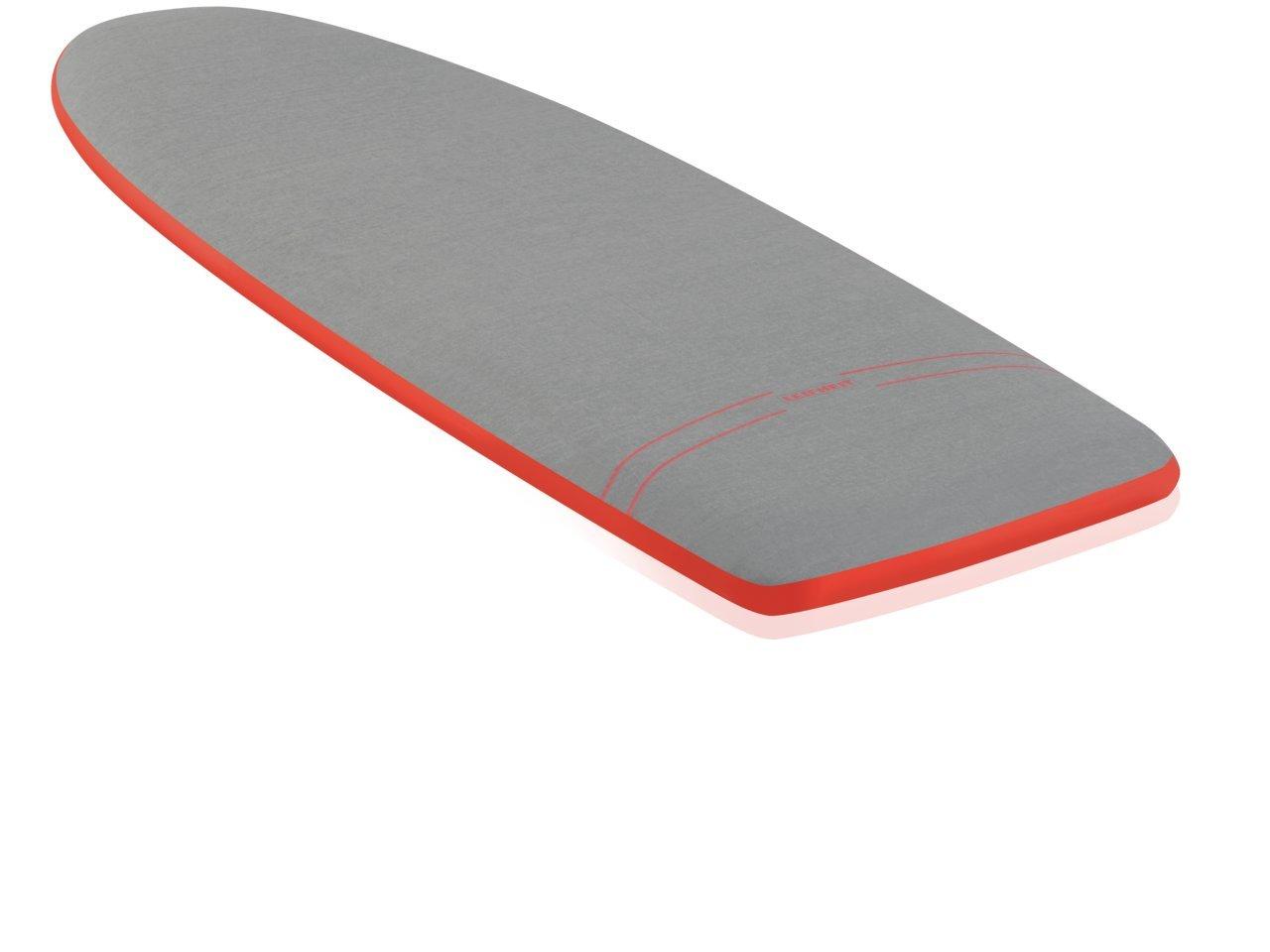 130 x 45 cm Funda de tabla de plancha Leifheit 76008 color gris y rojo