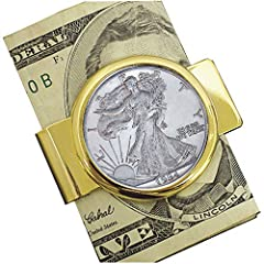 Are you looking for a great collectible item or memorable gift that brings a love of country and meaningful history of the past? Here it is!  🦅 Introducing the American Coin Treasures Silver Walking Liberty Half Dollar Coin Money Clip . It is...