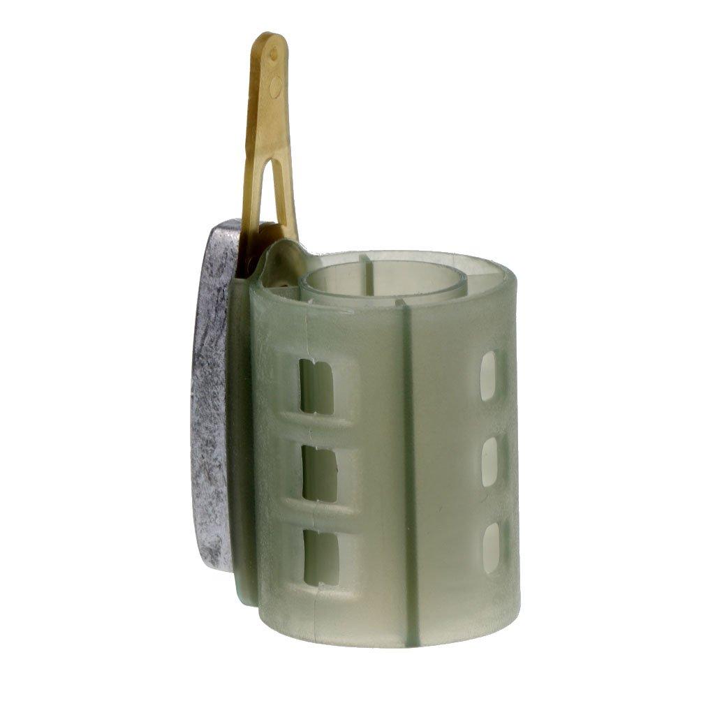 Angeln Feederkorb Futterkorb mit  für stehende /& fliessende Gewässer 1 Stk
