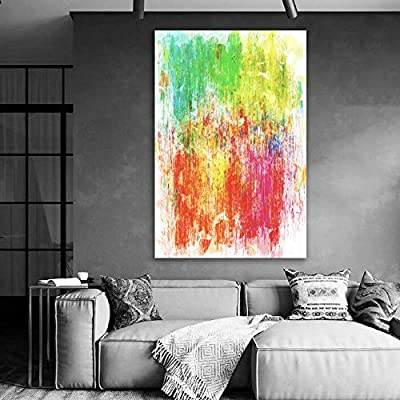 Lovely Style, Original Creation, Abstract Art Colorful Painting for Living Room