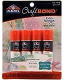 Elmer's E4016 CraftBond Extra Strength Glue Sticks, 4 Sticks per Pack, 6 Grams per Stick, Clear