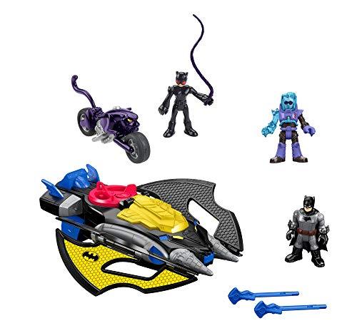 51XibZdXaHL DC Superfriends Batman Gift Set Includes Batman, Iceman, and Batgirl