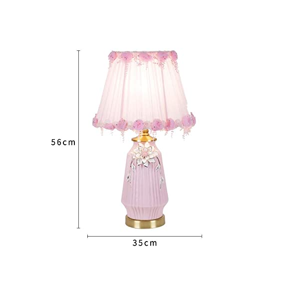 Zunruishop Bedside Lamp Lámpara de Lectura Niña de Rosa Lámpara de ...