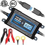 5 amp car battery charger - TOPAC 3.5/7A 6/12 Volt Automatic Car Battery Charger for Automotive, Motorcycle, Boat & Marine, RV, Toys, Power Tool, Lawn & Garden Battery Systems