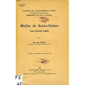 Oeuvres poétiques françaises par Saint-Gelais