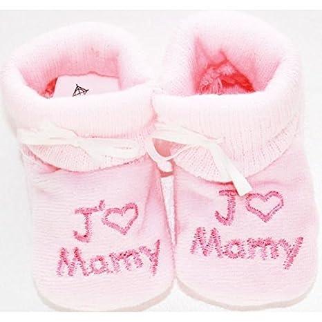 Zapatillas para bebé, diseño de nuevo, idea de regalo nacimiento Jmamy NISSANOU Rs-