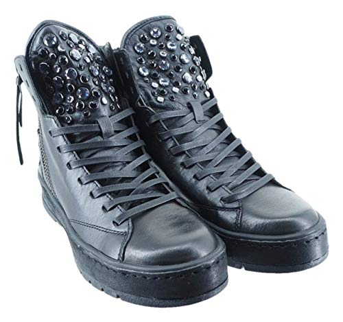25401HACKNEY Crime Scarpe Donna Nero AI18 pxqXwXYEr