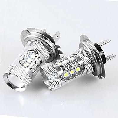 LED Headlight Bulbs HID for BMW S1000RR 2009-2016 2020 2020 High Power CREE Bulbs 80W White: Automotive