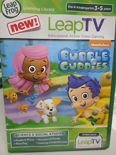 Leap Frog   Leap Tv   Bubble Guppies   Brand New Sealed Leapfrog