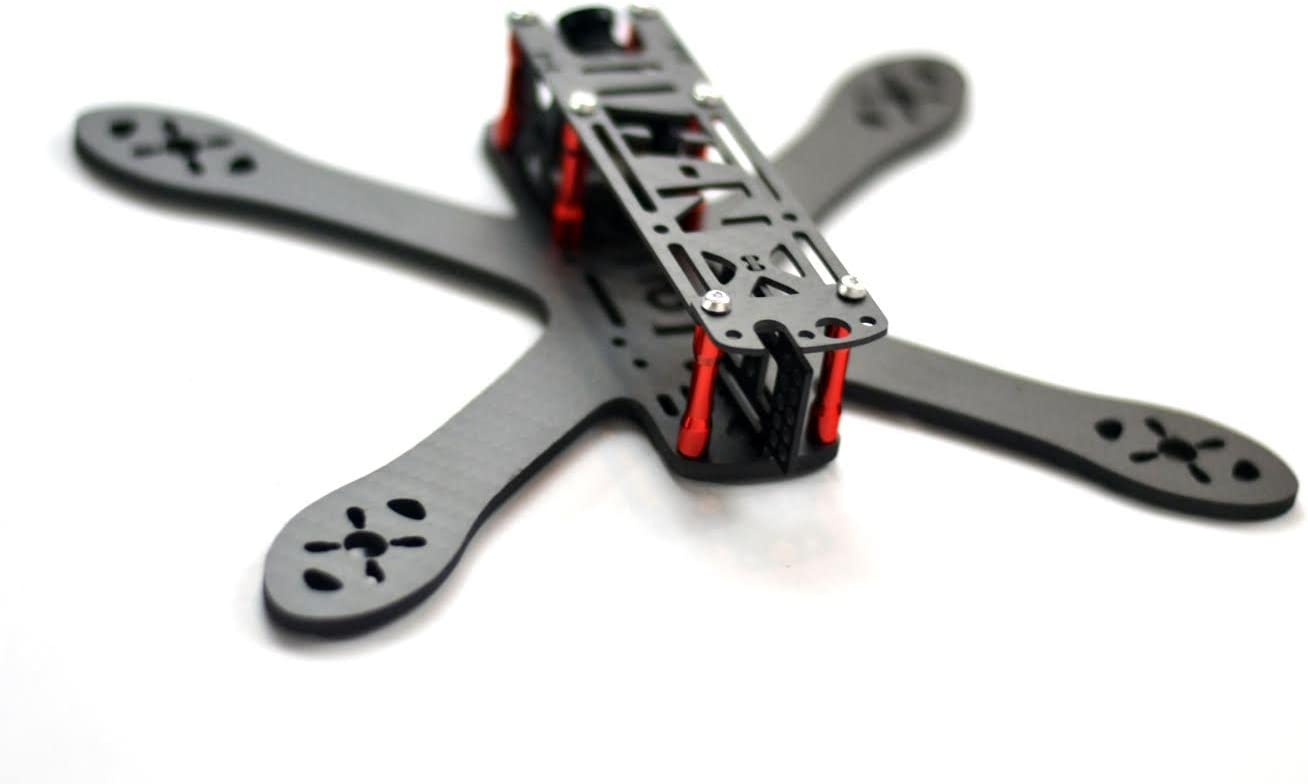 Secret Weapon Closeout Drones V2 Top Plate for The Heli-Nation Edition SW-5 CF X Frame