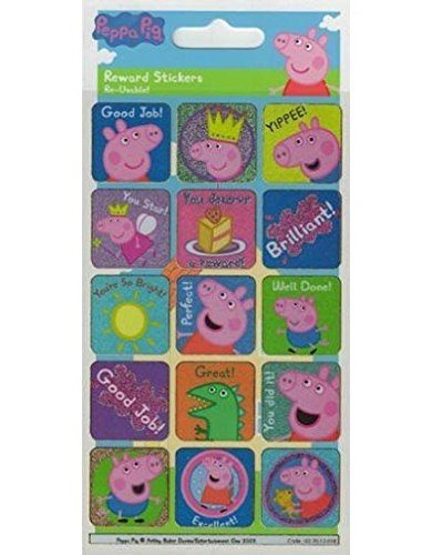 Rewards Stickers Gift Age 3-4 Childrens Peppa Pig Back to Nature Cutlery Set