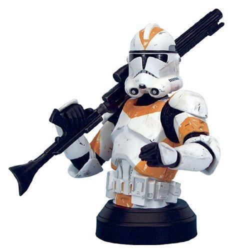 Star Wars: Episode III: Return of the Sith Clone Trooper Utapau Orange Variant Mini-Bust 1 in 6