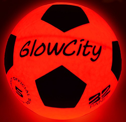 GLOWCITY LIGHT UP LED SOCCER BALL