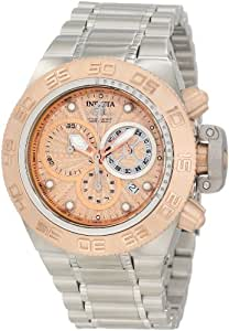 Invicta Men's 10142 Subaqua Noma IV Chronograph Rose Gold Tone Textured Dial Watch
