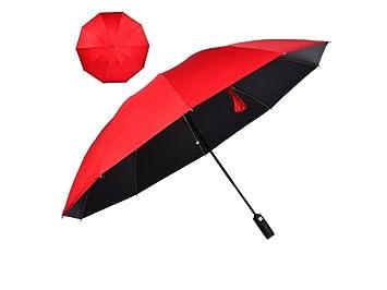 ZHZ Paraguas Paraguas Paraguas Reversible del Paraguas del ...