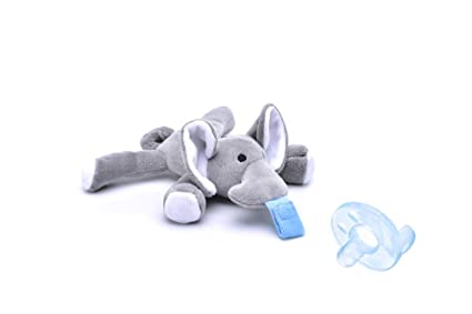 Amazon.com: godr elefante suave de chupete, infantil de ...