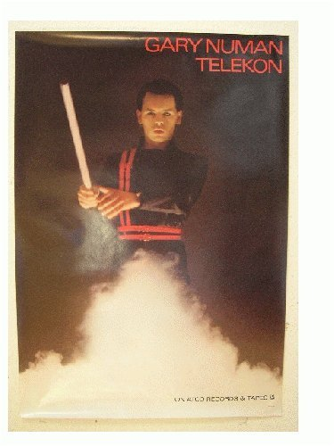 Gary Numan Poster Telekon Great Shot Of Him