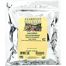 Organic Kelp Powder 1 Lb (453 G) - Starwest Botanicals