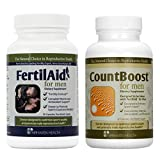 Product review for FertilAid for Men and Countboost Combo (1 Month Supply)
