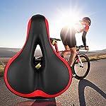 Ynport-Crefreak-Sella-Della-Bicicletta-Sella-Bici-Ciclismo-Cuscino-Pad-Antiurto-Design-Big-Bum-Extra-Comfort-Sedile-Bicicletta