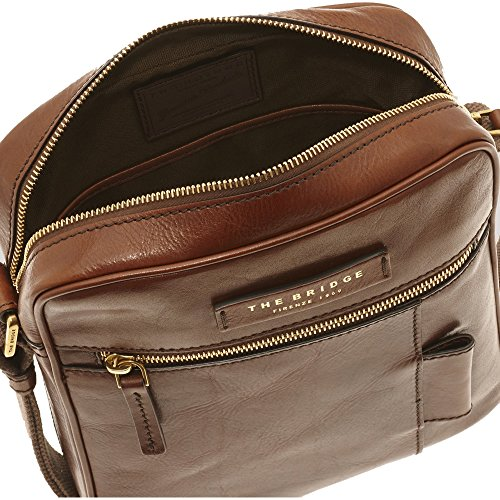 The Bridge Passpartout Borsa a tracolla pelle 22,5 cm Marrone