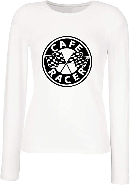 camiseta cafe racer mujer