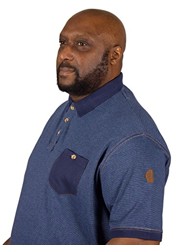 D555 Herren Poloshirt blau navy