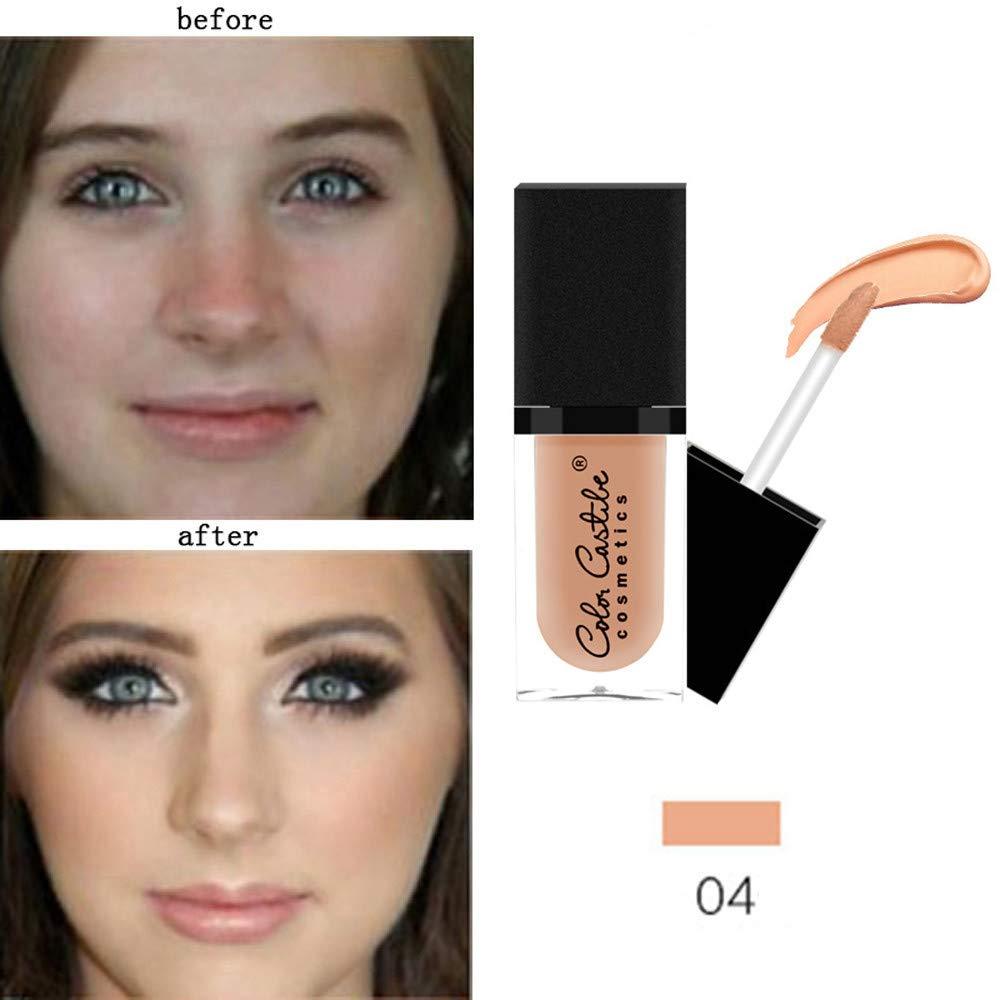 Under Eye Concealer, Makeup Liquid Concealer Foundation Moisturizing Waterproof Concealer BB Cream
