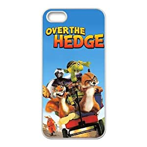iphone5 5s phone cases White Over the Hedge cell phone cases Beautiful gifts PYSY9398633