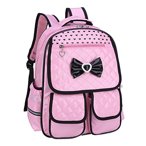 Abshoo Child School Bookbag Cute Kids School Backpacks for Girls (Pink)