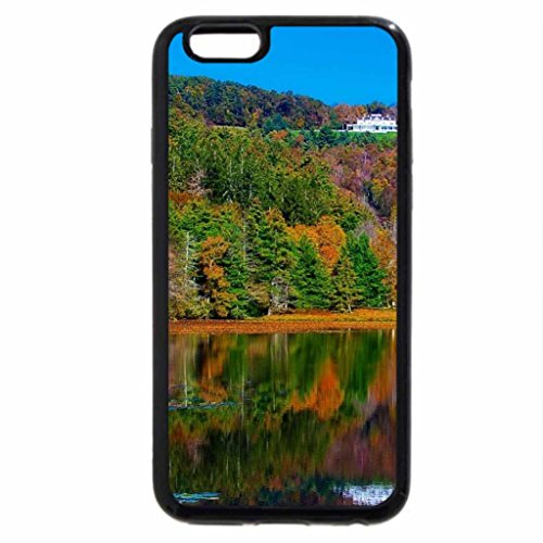iPhone 6S / iPhone 6 Case (Black) nice mansion above an autumn lake