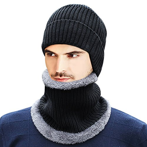 Ear Cover Knit Hat - 3