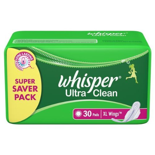 whisper-ultra-clean-xl-wings-30-pads-pack-of-2-with-free-shipping-herbalstore-247