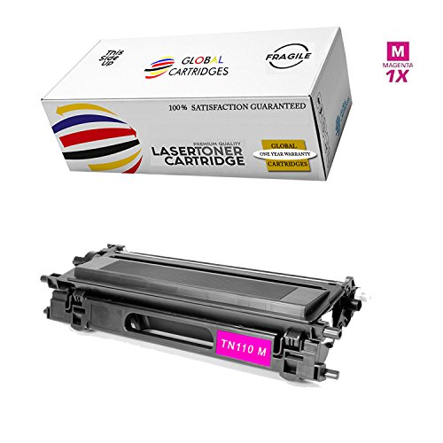 GLB Premium Quality High Yield Remanufactured Brother TN110 Magenta Toner Cartridge