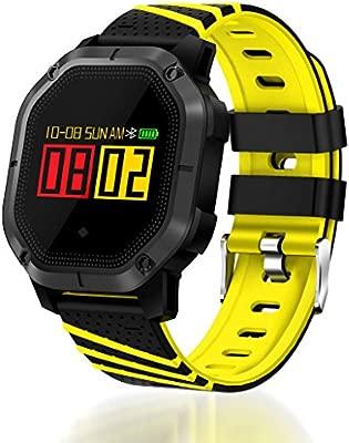 Monitor de Actividad Física, Monitor de Ritmo Cardíaco IP68 ...
