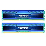 Patriot Viper 3 Low Profile Blue 8GB (2 x 4GB) 240-Pin DDR3 SDRAM 1600 (PC3 12800) Desktop Memory Model PVL38G160C0KB