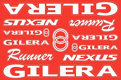 (Gilera Runner Nexus Decals Stickers Vinyl Graphic Set)
