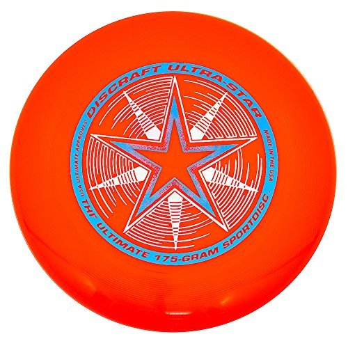 Discraft 175 g Discraft Ultrastar Frisbee (Orange) by Discraft