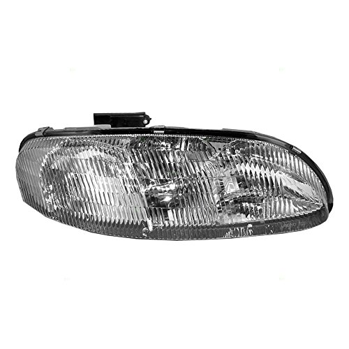 Passengers Headlight Headlamp Replacement for Chevrolet ()