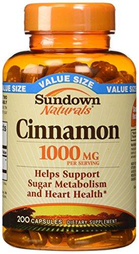 Sundown Naturals Cinnamon Capsules Value product image