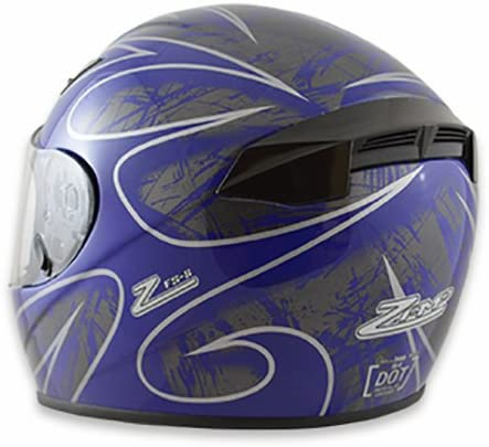 Zamp FS-8 Snell M2015 DOT Helmet Matte Black XX-Large