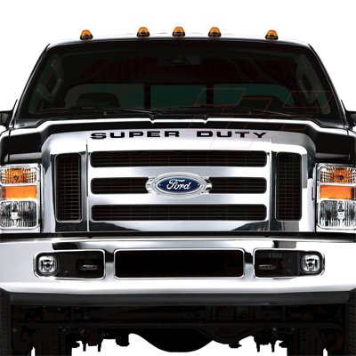 Ford Super Duty Front Grille Black Letter Insert