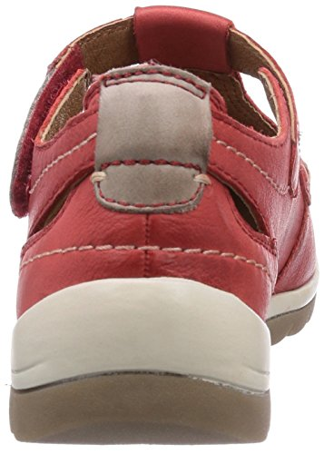Jana 24620 Damen Clogs Rot (Chili)