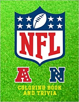 Book NFL Coloring Book and Trivia: This NFL book comprises of images of the logo`s, insignias and the helmets of each team to color and trivia on all 32 ... in the images. Great for kids and adults